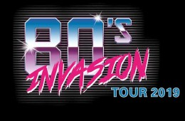 80s INVASION 2019 LOGO