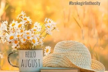 august blog header