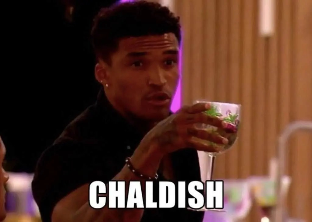 Chaldish. Has Love Island caused us to lose faith in relationships?