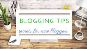 Secret blogging tips: for new bloggers