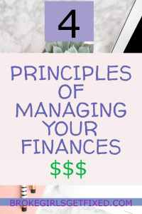 Be in control of your finances with these easy principles