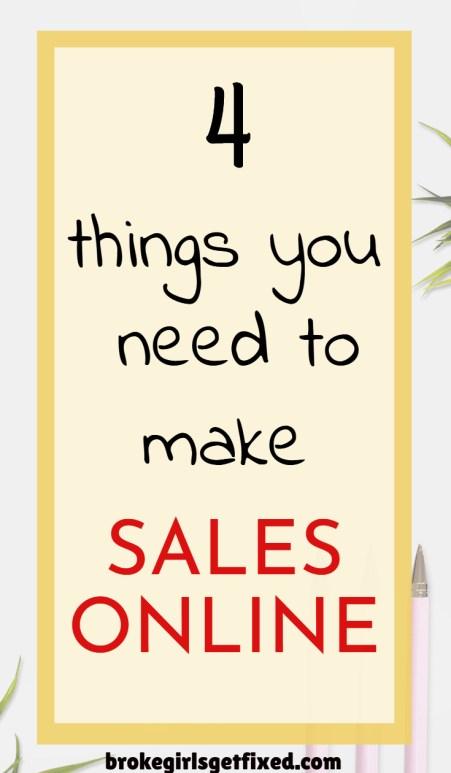 making sales online just got easy