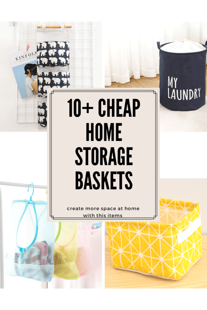 cheap storage baskets for home use