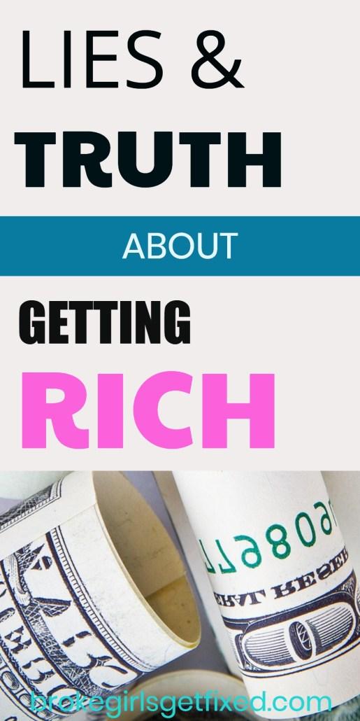 keys to getting rich