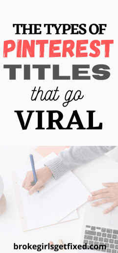 pinterest titles that go viral