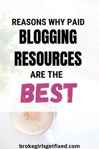 why paid blogging resources are the best