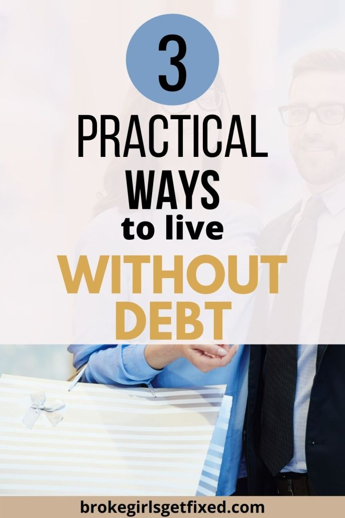 ways to live without debt