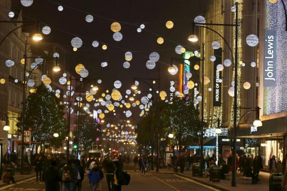 Oxford Sts Christmas Light Switch On Set For Nov 6th