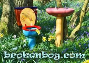 spring at brokenbog