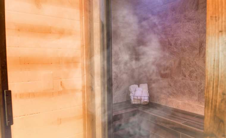 Broken Bow Lake Cabin Steam Spa