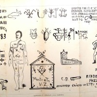 Camorra Tattoos from the 19th Century