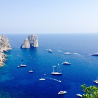 Stella, di Mezzo and di Fuori: Capri's legendary Faraglioni rocks