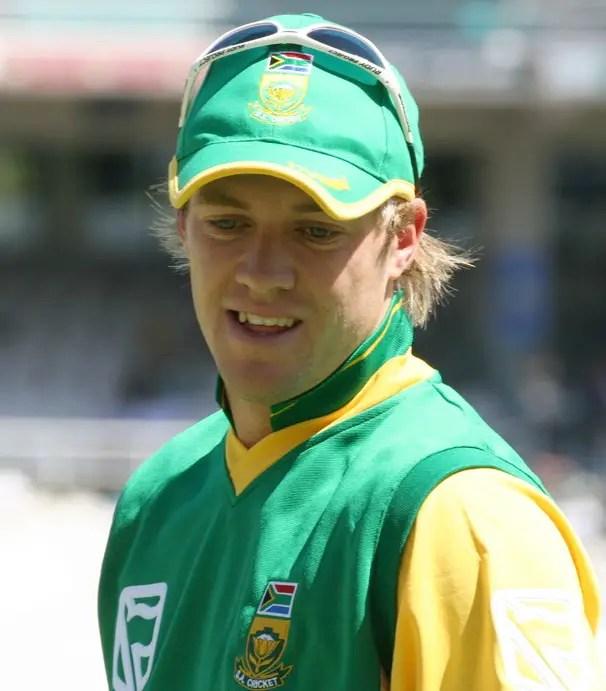 Photo of AB de Villiers; Faf and ABD Friendship