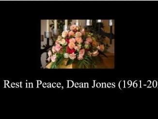 Rest in Peace, Dean Jones (1961-2020)