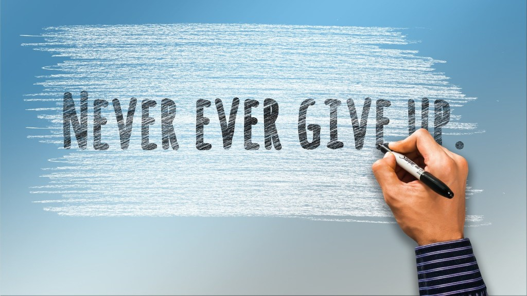 """""""Never Ever Give Up"""""""