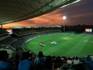 Photo of the Adelaide Oval from the stands