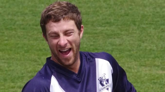 Photo of Matthew Wade laughing
