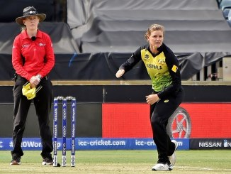 Australia Vs New Zealand Women - Picture of Jess Jonassen