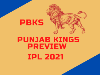 Punjab Kings Preview Banner