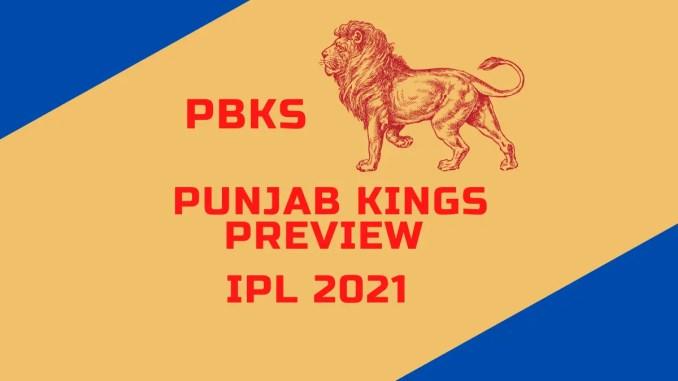Punjab Kings Preview Banner