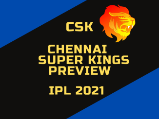 Chennai Super Kings Preview Custom Banner