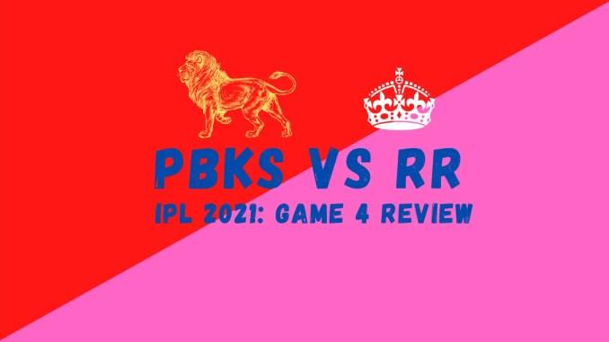 RR Vs PBKS Banner