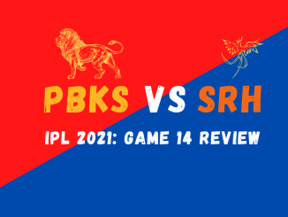 PBKS Vs SRH Graphic