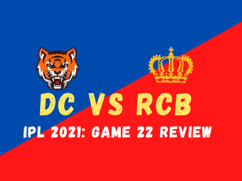 RCB Vs DC Graphic
