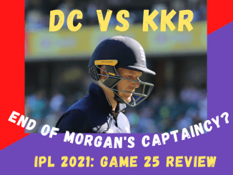 KKR Vs DC Graphic