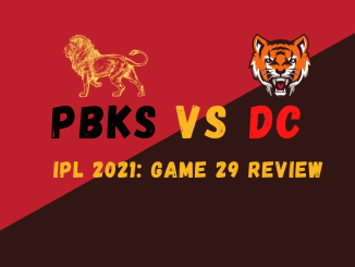 PBKS Vs DC Graphic