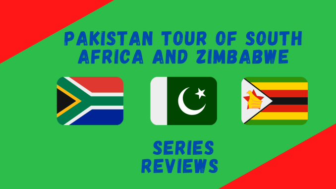 Pakistan tour of Africa 2021 - Graphic