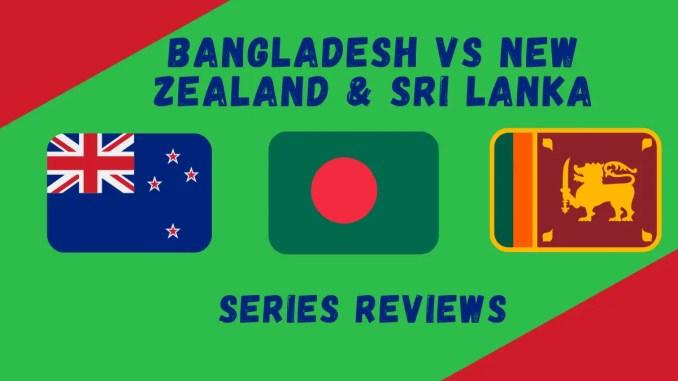 Bangladesh tours of New Zealand & Sri Lanka