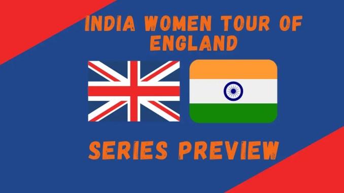 England Women Vs India Women 2021 Graphic