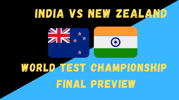 World Test Championship Final Preview Graphic