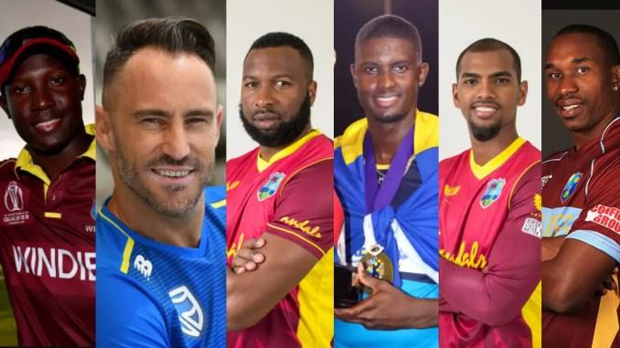 Photo of CPL 2021 Captains