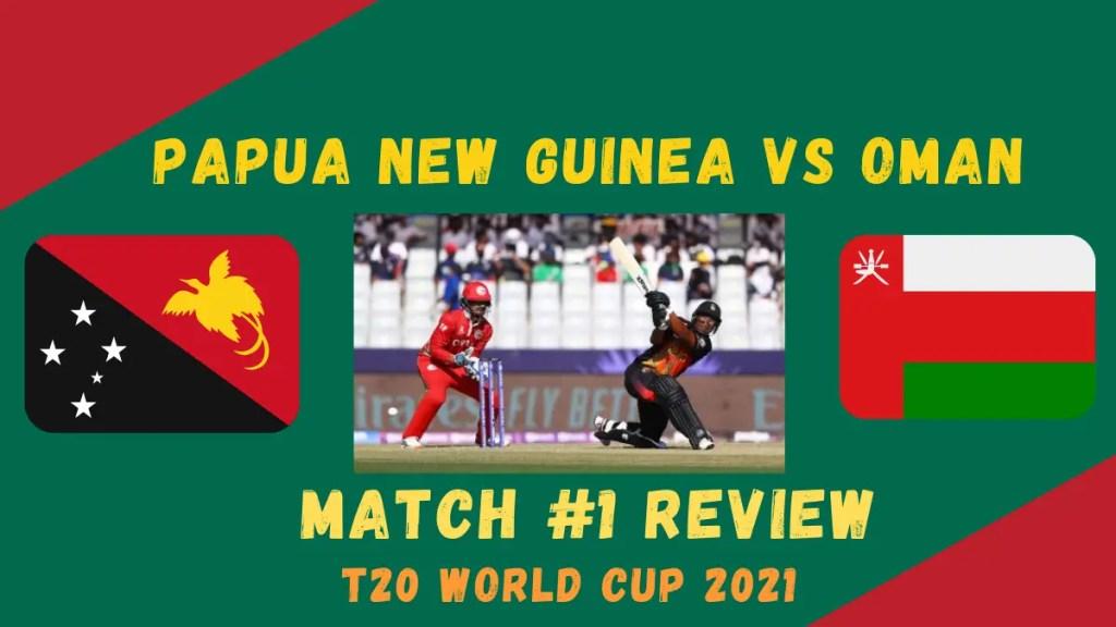 Papua New Guinea Vs Oman Graphic