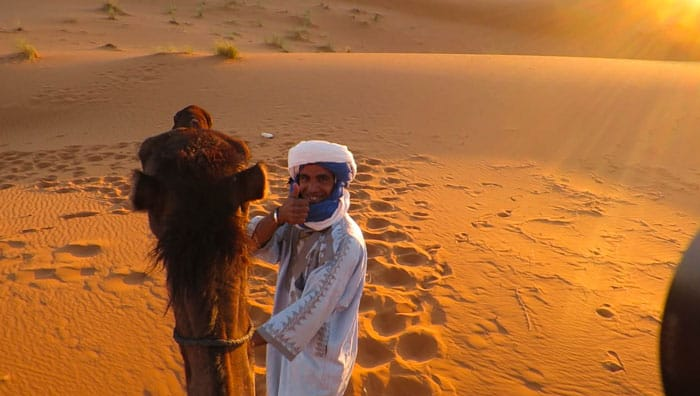 Morocco Desert Tour Riding Camels