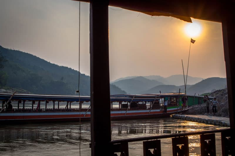 Broken Limitz Laos Mekong River