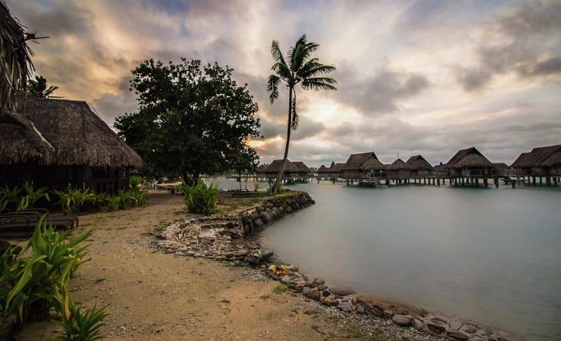 Islands of Tahiti Moorea Sofitel Sunset