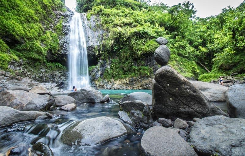 The Islands of Tahiti Waterfall