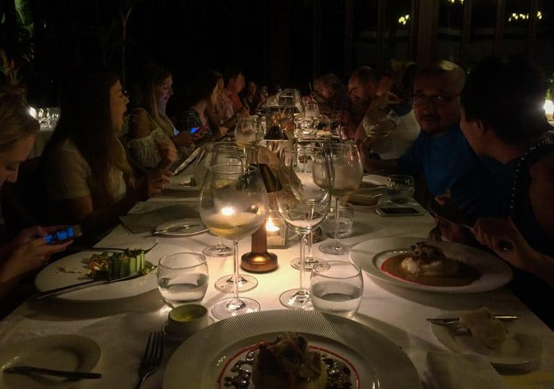 Moorea French Polynesia Dinner