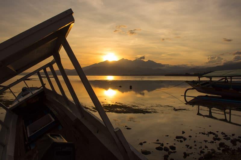things to do in the gili islands, gili islands sunrise, gili islands gili air lombok, bali indonesia gili air
