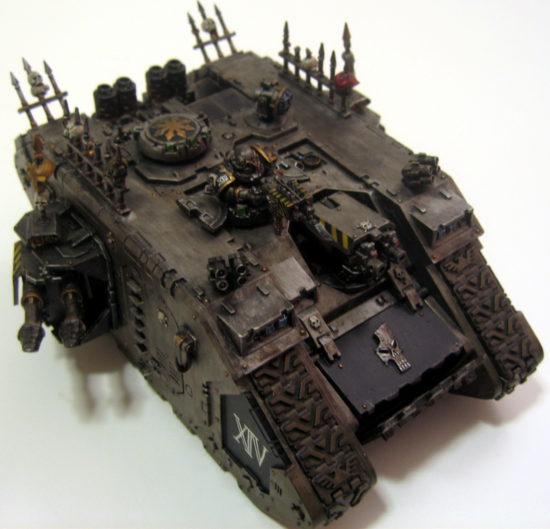 Iron Warriors Land Raider