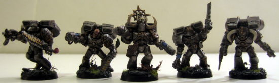Iron Warrior Raptors (front)