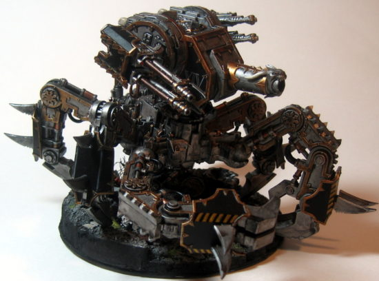 Iron Warriors Defiler (Right Side View)