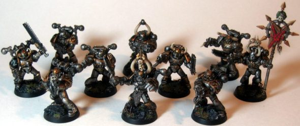 Iron Warrior Troop Squad Three