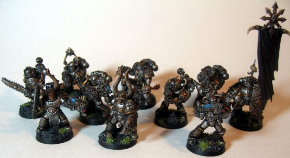 Iron Warrior Chaos Space Marines Troop Squad Two
