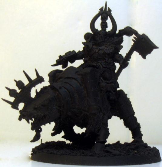 Warsmith on a Juggernaut of Khorne