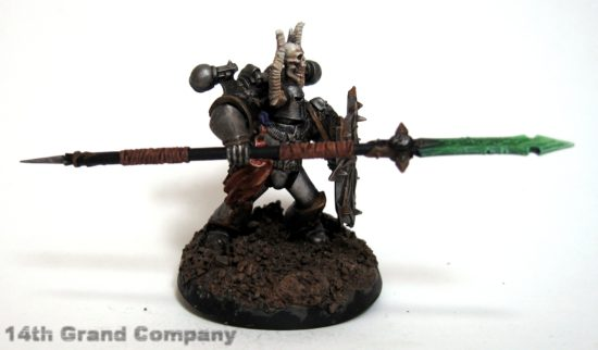 How I paint Iron Warriors, Stage 6: The Base, Step 1: Graveyard Earth