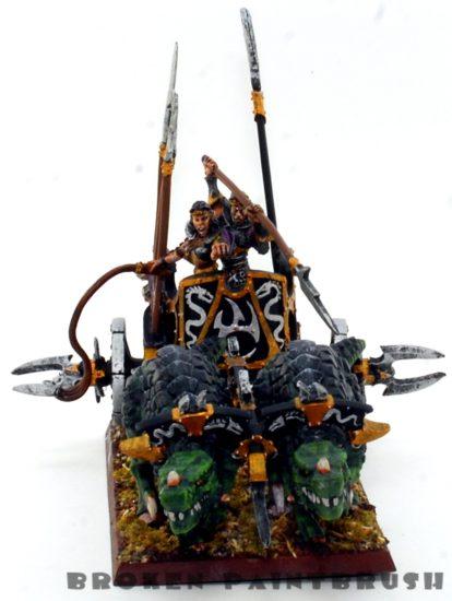 Dark Elf Chariot - Front Side